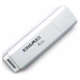 usb-flash drive / флешка 4Гб Kingmax U-drive PD07 High Speed  белый